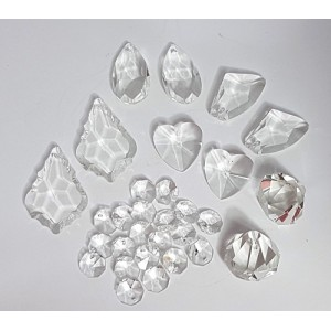 mixed crystals- set A 30 pieces