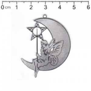 filigree fairy moon (pack of 2) F14