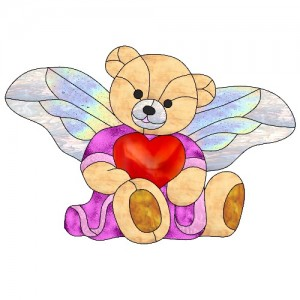 wing pack– angel bear