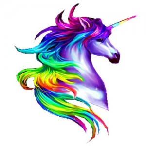 Rainbow unicorn design