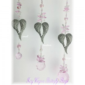 Angel heart wing Suncatcher - ASC005