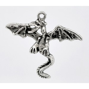 Dragon Charm - flying dragon