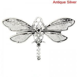 Dragonfly charm (mixed pack of 3)