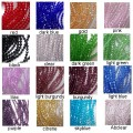 AGrade 6mm bead strands - set of all 16 colours