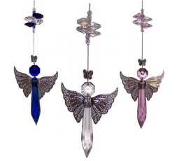 4x Angel Suncatcher - BPASC005