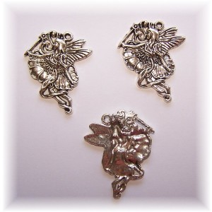 charm- fairy #3pack of 3 large